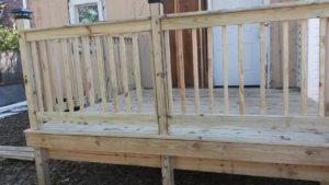 Decks built