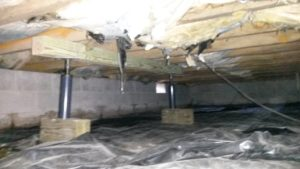 Sagging Floor Joist Repair